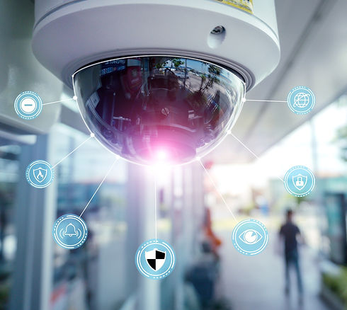 Security%2520CCTV%2520camera%2520and%2520icons%2520at%2520front%2520of%2520Supermarket.Security%2520