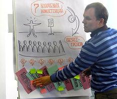 Тренер-андрогог: технологии разработки тренингов и эффективного развития взрослых (походы Malcolm Knowles, David Kolb, Tim Russell) Оценка эффективности программы обучения Donald Kirkpatrick, ROI Особенности и структуры программ тренингов по продажам, мене