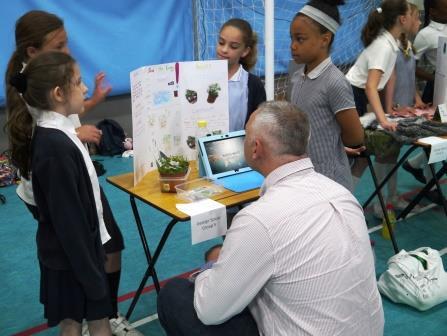 Presenting to STEM Ambassadors