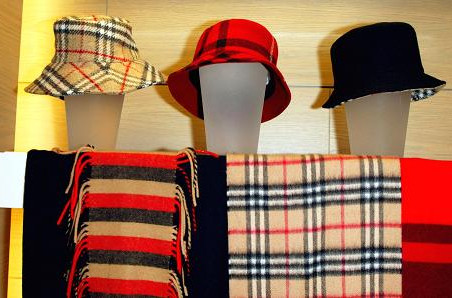 Burberry sues Target for allegedly counterfeiting its check pattern