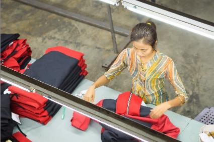 Myanmar garment exports hit $2.2bn in H1