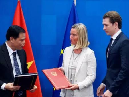 EU-Vietnam trade pact presented for signature and conclusion