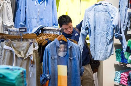 American Eagle Outfitters tops same-store estimates