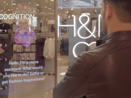 H&M tests voice-activated mirrors at NYC flagship