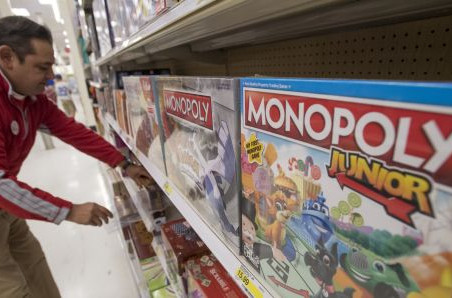 Target races to fill toy void left by rival