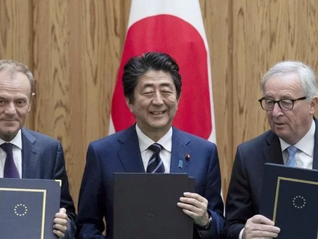 Japan and the E.U. Sign Landmark Trade Deal in a 'Clear Message' Against Protectionism