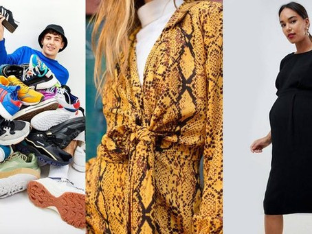 Animal print, dad trainers and Meghan Markle were top-selling trends at Asos last year
