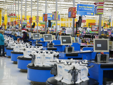 The last two times Walmart shares did this the stock saw a huge rally