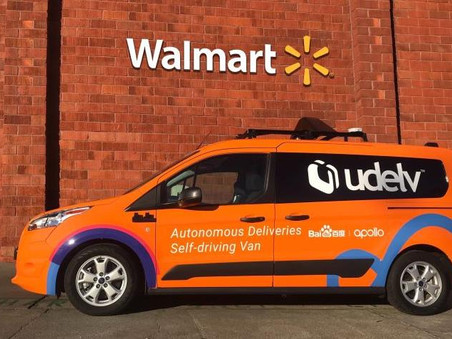 Walmart taps Udelv for latest driverless car tests to deliver groceries