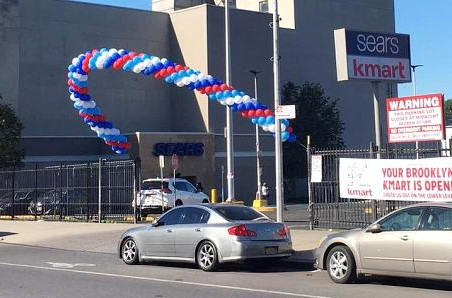 A Kmart store opens inside a Sears store in Brooklyn, and more may be on the way