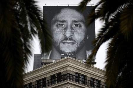 Nike's online sales surge in days after Kaepernick ad debut