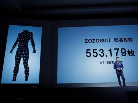 Japan's Zozo, using measurement taking bodysuit, expands bespoke service