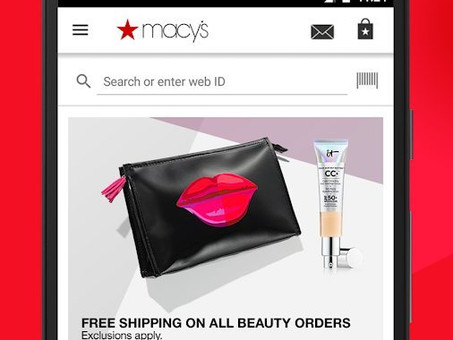 Macy's invests in app with mobile checkout and AR experience
