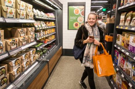 More than 20% of adults will order groceries with an app by 2019, forecast says