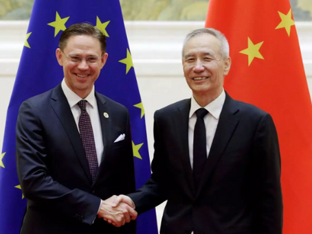 China and EU agree to work together to tackle Trump's higher tariffs