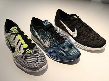 Nike sues Puma for copying Flyknit shoe