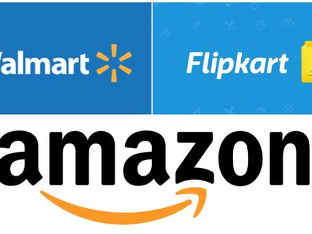 Amazon may reportedly rival Walmart with bid to buy India's Flipkart