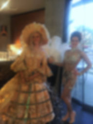 Champagne Skirt Corporate events