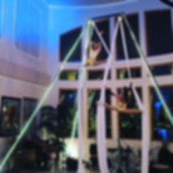 Aerial Silks  Corprate event entertainmentEntertainment