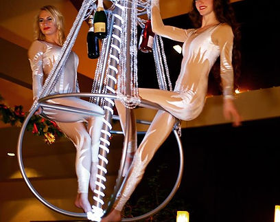 Aerial Chamdelier Corporate Entertainment
