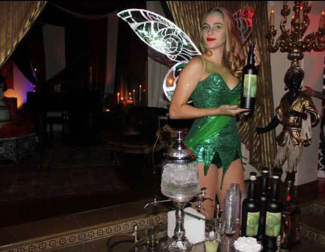 Check out our absinthe fairy for _vaness