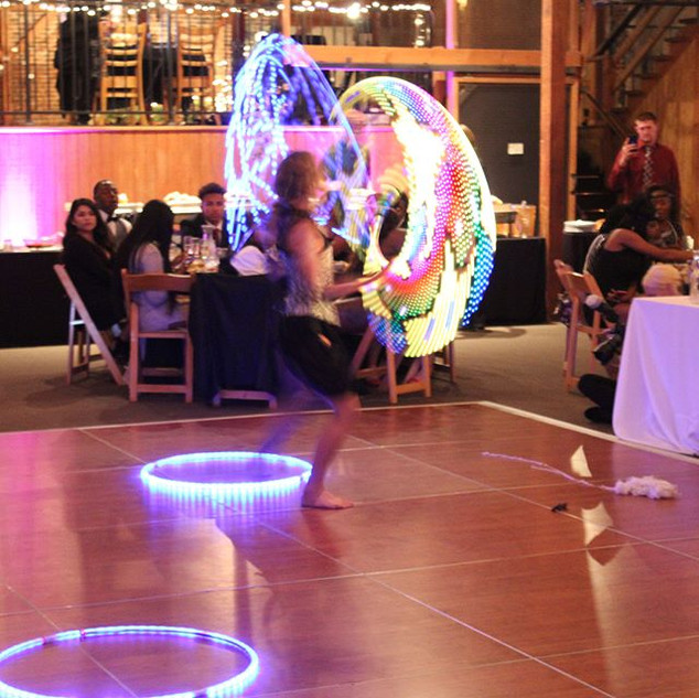 🌴✨Cirque Mirage ✨🌴✨LED Hooping #ledhoo
