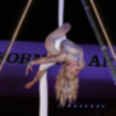 Aerial Silks Corporate Entertainment
