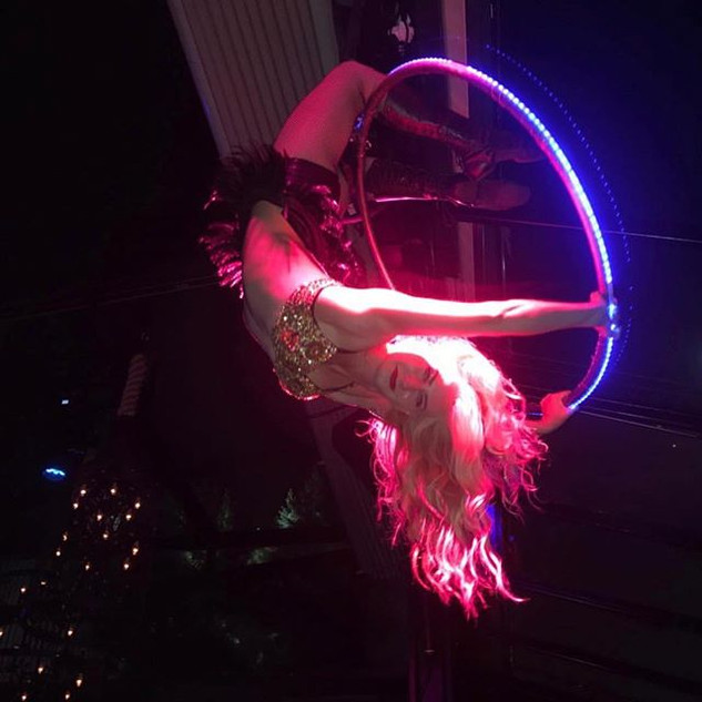 🌴✨Cirque Mirage✨🌴LED Aerial hoop for y