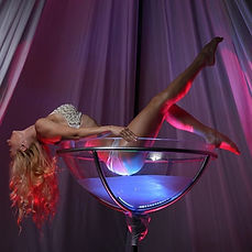 Giant Champagne Glass Corporate Entertainment