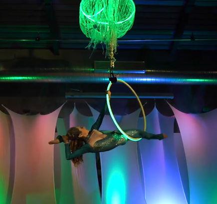 Aerial Lyra Hoop Entertainment