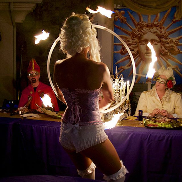 🌴✨Cirque Mirage ✨🌴 Fire Hooping our wa