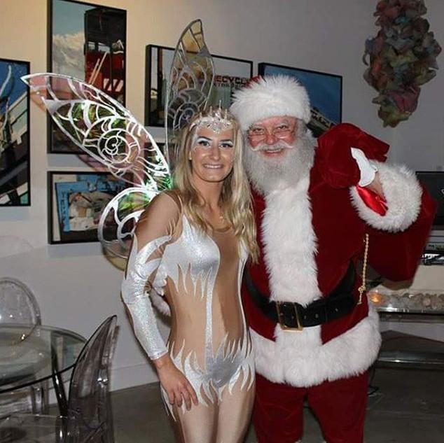 Snow and Santa 🌴❄Cirque Mirage❄🌴 #even