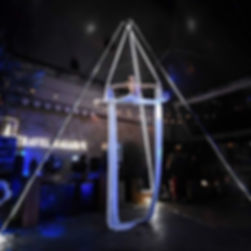 Aerial Silks Corprate Event Entertainment