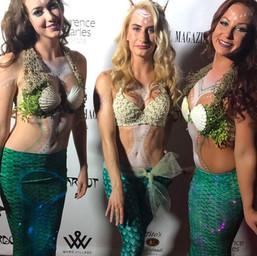 Mermaid trio for _latravelmagazine