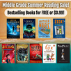 Middle Grade Summer Reading Sale! (August 1-5, 2021)