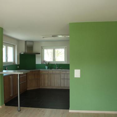 Frische Farbe in der Küche