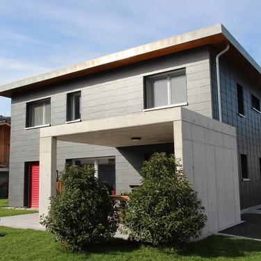 Materialspiel Beton-Schiefer