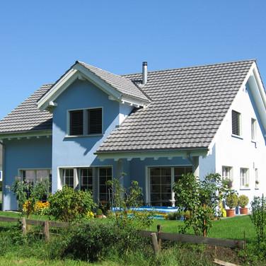 Blaues Haus in Sevelen