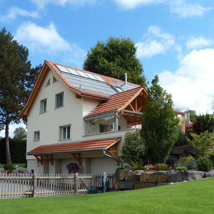 Umgebautes Haus in Mauren