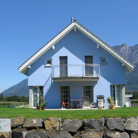 Haus mit Gibeldach