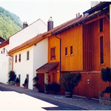 Neues Haus in alter Struktur