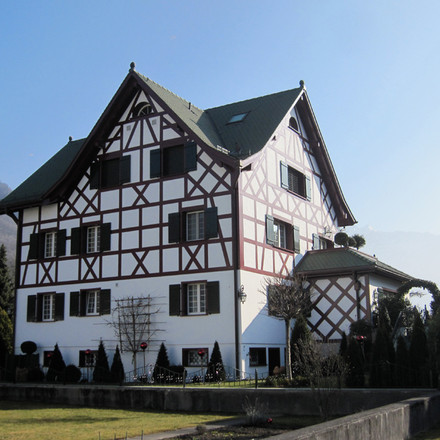 Riegelbau, Vaduz