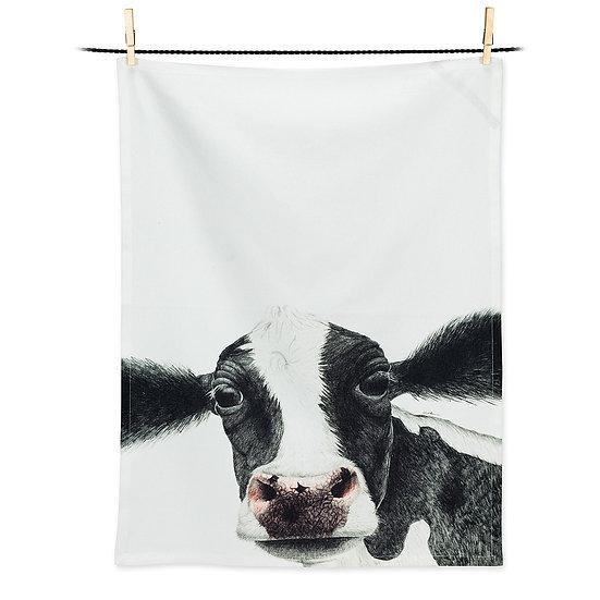 Rosa Cow Tea Towel (AB)