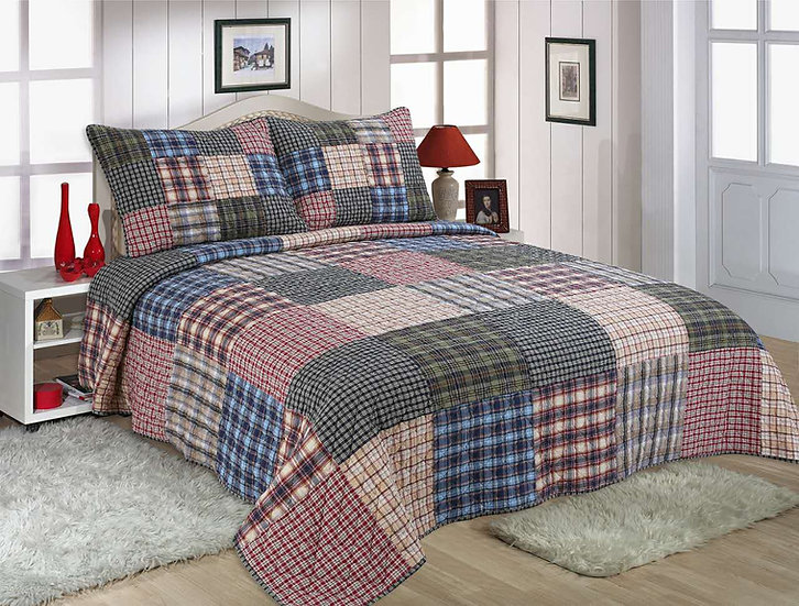 Shetland Reversible Quilt Set
