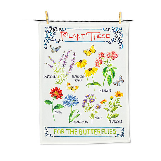 For the Butterflies Tea Towel (AB)
