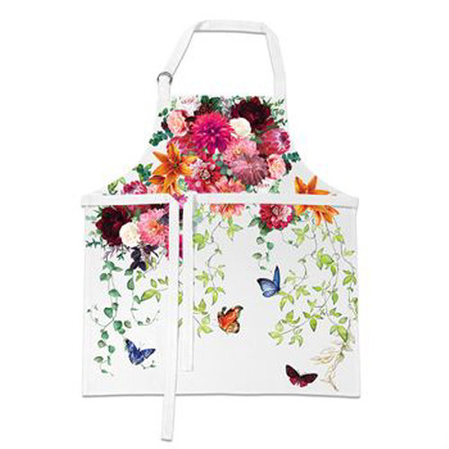 Sweet Floral Melody Apron
