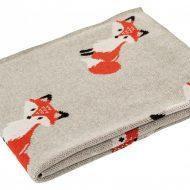 Fox Baby Blanket (B)