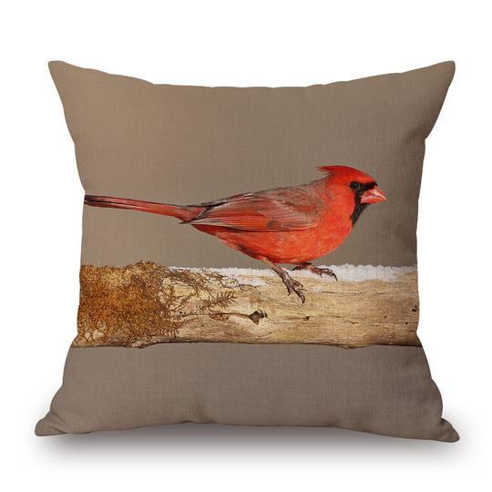 Cardinal Cushion With Filler (DT)