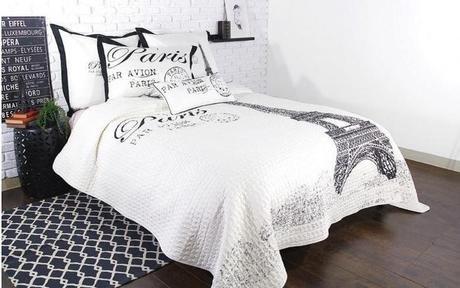J'Adore (RJ) Quilt Paris Print