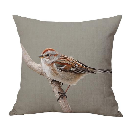 Sparrow Cushion With Filler (DT)